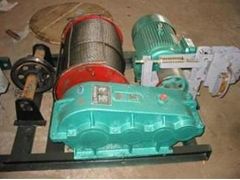 Electric crane winch for boat lifting