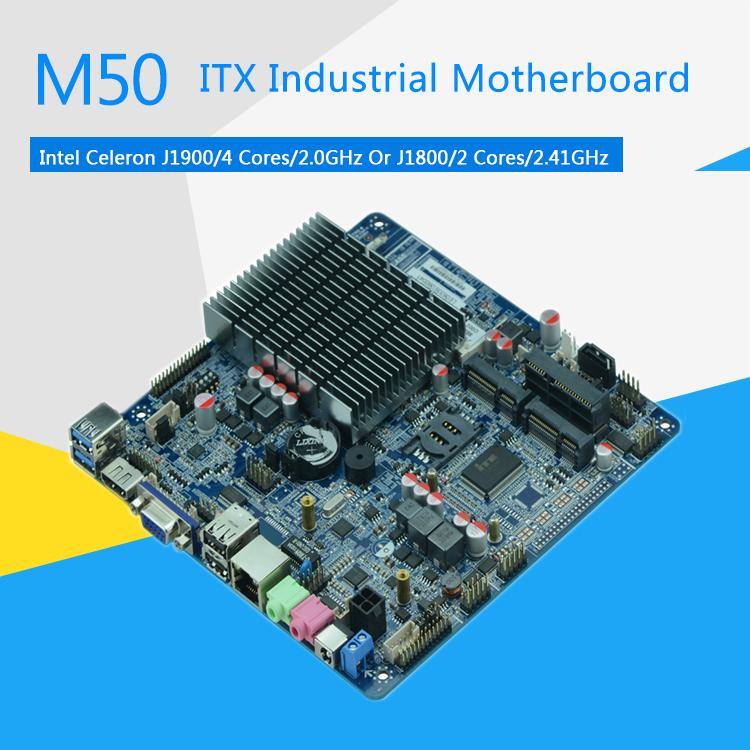 Itx Industrial J1900 Quad-Core Motherboard 1