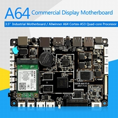 A64 LCD Control Board ARM 64bit Processor for Digital Signage Vending