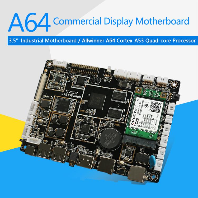 A64 LCD Control Board ARM 64bit Processor for Digital