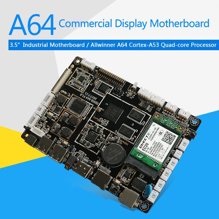 A64 LCD Control Board ARM 64bit Processor for Digital Signage Vending 4