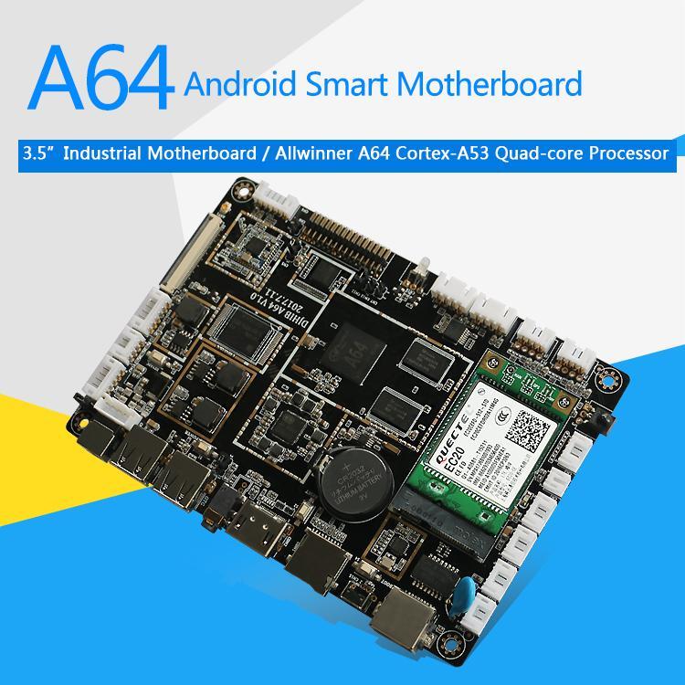 A64 LCD Control Board ARM 64bit Processor for Digital Signage Vending 5