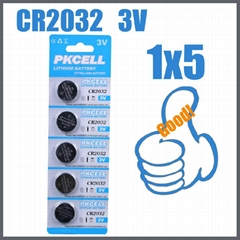 3V normal voltage button cell batteries