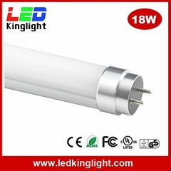 Fluorescent T8 LED Tube Light, 1200mm 4' 18W, 600mm, 1500mm, 2400mm Option