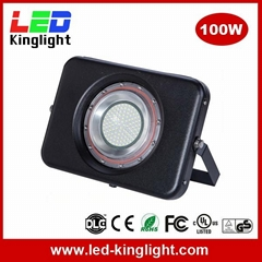 LED Floodlight Projector Light, 100W, IP67 Waterproof, 6000K, Outdoor Use