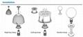 E39/E40 LED Corn Bulb Lights, 80W, Replacement CFL MH HPS Lamp, CE UL DLC  4