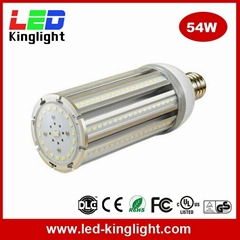 E40/E39 LED Street Corn Bulb Lights, 54W, 360 Beam Angle, Replacement CFL, HPS
