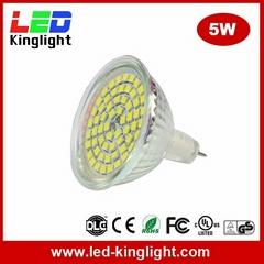 MR16 Indoor Flood, 12-Volt, 5W LED Spotlight Bulb Lights, GU5.3 Bi-PIN Base