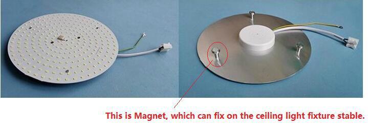 15W LED Ceiling Light Module, Magnet Installation, AC230V, 2700-6500K 4