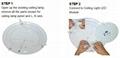 15W LED Ceiling Light Module, Magnet Installation, AC230V, 2700-6500K 8