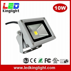 10W LED Floodlight, IP65 Waterproof, AC100-240V, Outdoor Applications