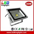 30W LED Floodlight, IP65 Waterproof,