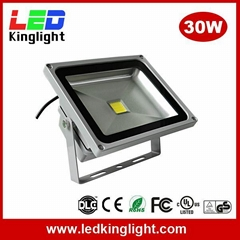 30W LED Floodlight, IP65 Waterproof, AC100-240V, Outdoor Applications