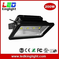 200W LED Projector Lights, IP65 Waterproof, Replacement 500W Floodlight