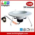 LED Retrofit Downlight, 6 inch 12W