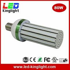 E39/E40 LED Corn Bulb Lights, 80W, Replacement CFL MH HPS Lamp, CE UL DLC