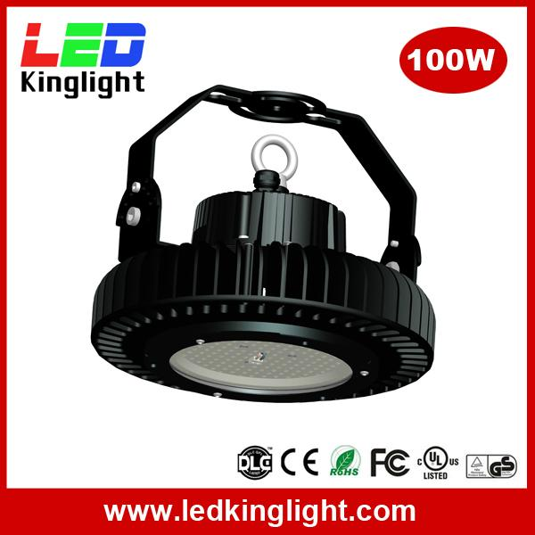 100W high bay led 2016, 130lm/W, meanwell power supply, Philips chip 2