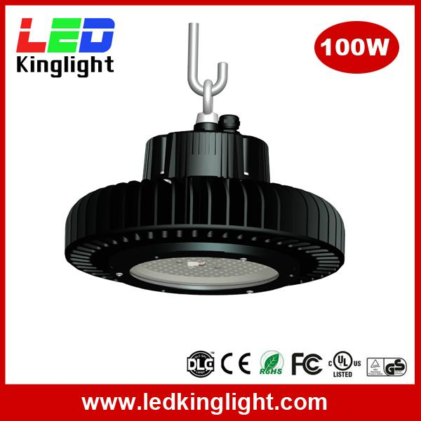 100W high bay led 2016, 130lm/W, meanwell power supply, Philips chip 1