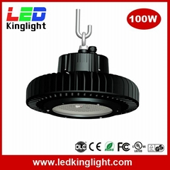 100W high bay led 2016, 130lm/W, meanwell power supply, Philips chip