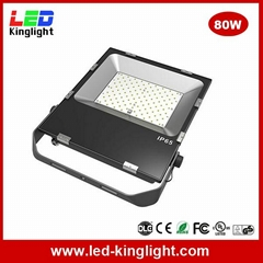 80W LED SMD floodlight IP65 waterproof 130lm/W
