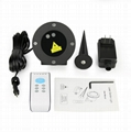 Remote Controllable RGB Laser Outdoor Garden Landscape Light Red Green 5