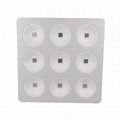 9pcs COB with Reflector 800w led grow light used for hydroponic 4