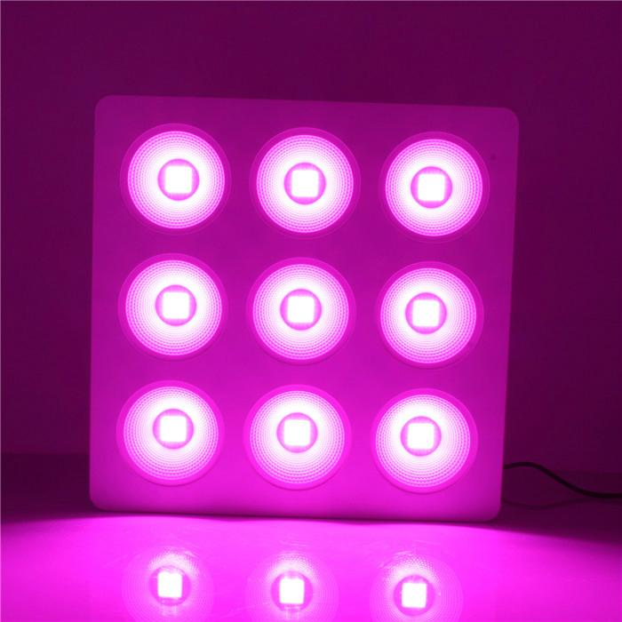 9pcs COB with Reflector 800w led grow light used for hydroponic 3