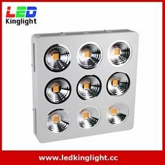 Full Spectrum 9x200W COB led grow light kit good for medical plant (Hot Product - 1*)