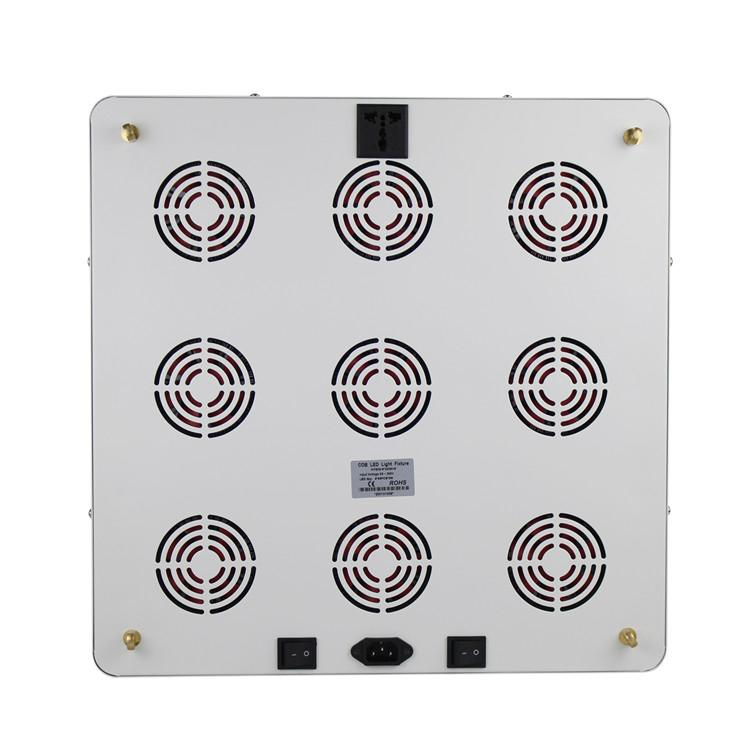 Full Spectrum 9x200W COB led grow light kit good for medical plant 5