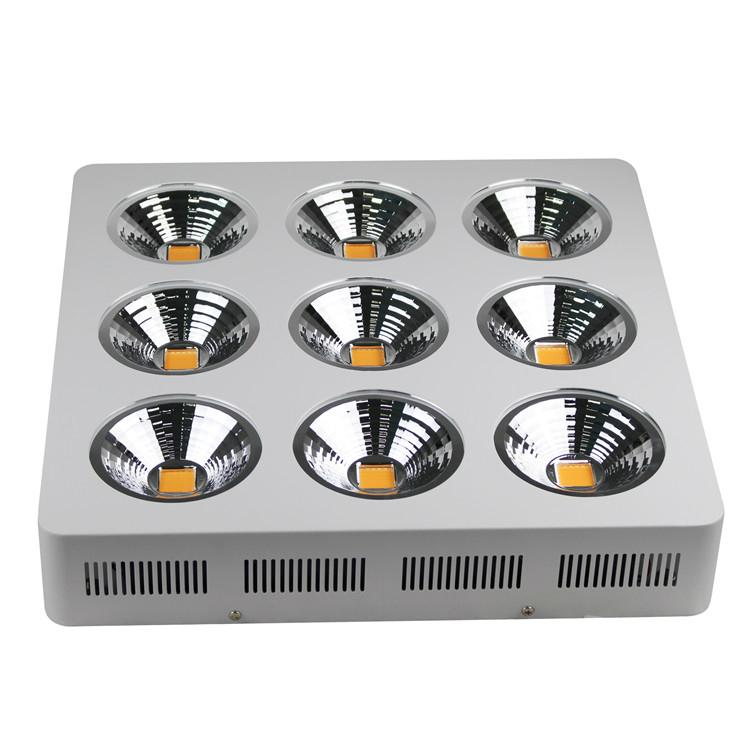 Full Spectrum 9x200W COB led grow light kit good for medical plant 6