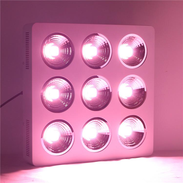 full spectrum led grow light 9x200W