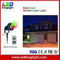 IR Control Red Green laser projection
