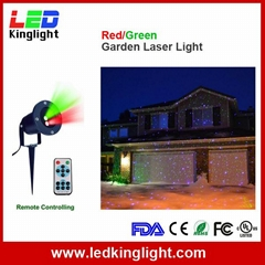 IR Control Red Green laser projection lamp Bar DJ party stage light