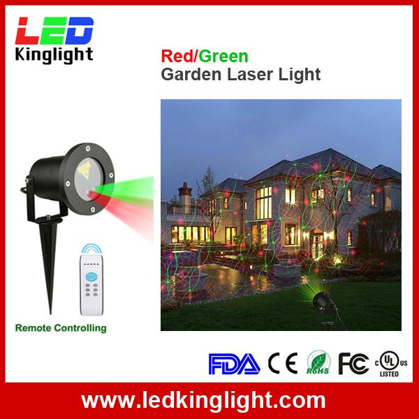 laser garden light red green
