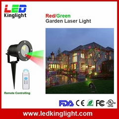 Remote Controllable RGB Laser Outdoor Garden Landscape Light Red Green