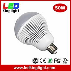 50W E40 LED High Bay Bulb Light Used in High Bay Fixture