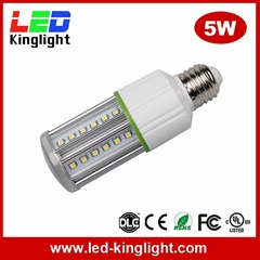 5W 500lm AC100-277V LED bulb e27 Warm white corn light