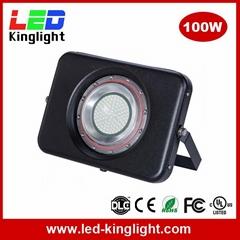 LED Floodlight Projector Light, 100W, IP67 Waterproof, 6000K, Outdoor Use