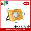 LED Floodlight Outdoor Light, 50W, IP67