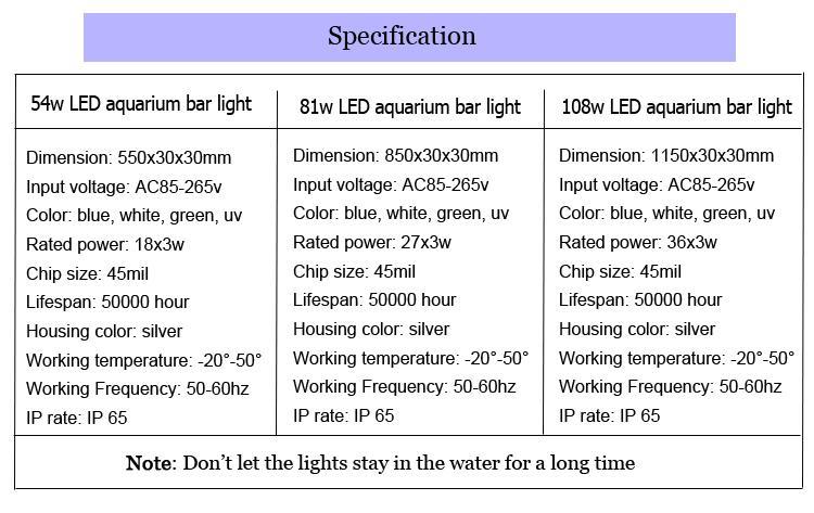 led light bar aquarium 4