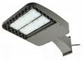 DLC/ETL 80W LED shoebox light, 130lm/W,