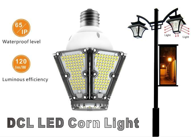 E39/E40 LED Corn Bulb Lights, 80W, Replacement CFL MH HPS Lamp, CE UL DLC  12