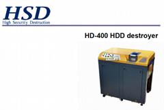 high security hard drive crusher