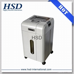 Quality HSD9000 multif-use CD/DVD shredder shred paper, CD/DVD, Uflash