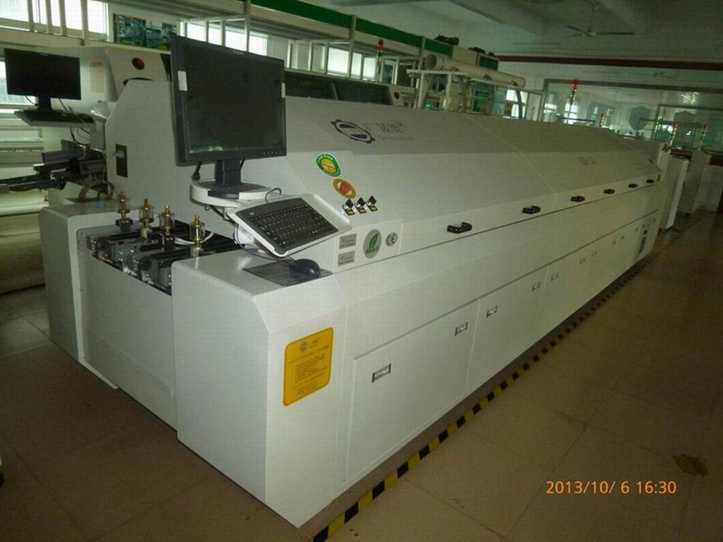 焊接PCB雙軌回流焊機 1