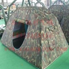 供应6平米充气迷彩帐篷