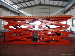 Heavy Load and Capacity Stationary Scissor Lift