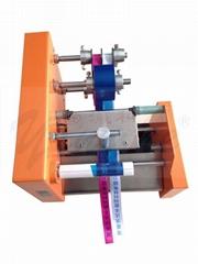 Automatic lanyard printer