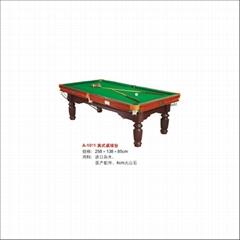 pool table in Guangzhou mesas de billar tables de billard mesas de bilhar