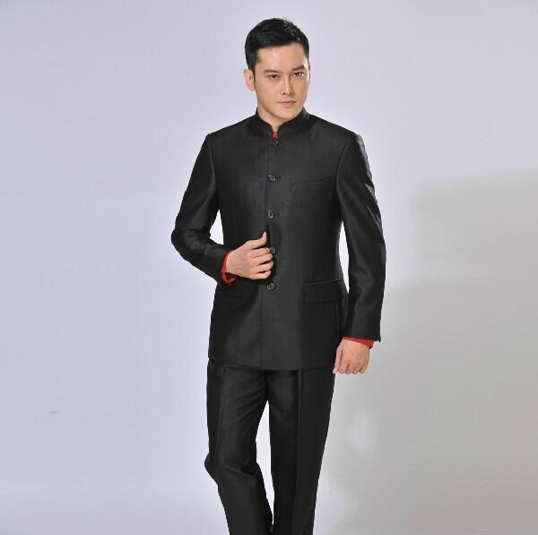 中华立领套装 2